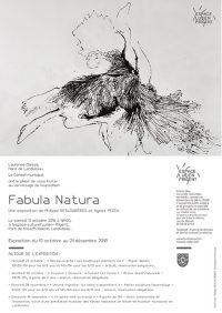 Invitation exposition Fabula Natura à Landivisiau - 2018